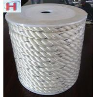 Buy cheap 3 strand twisted polyester rope ideal for anchor line from wholesalers