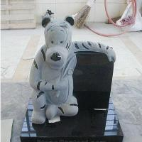 Buy cheap Child granite headstones with pet from wholesalers