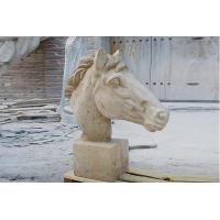 Buy cheap Animal Horse Marble Radha Krishna Statue Sculpture With High Quality from wholesalers