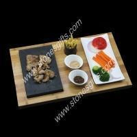 Buy cheap Whiskey Stones Gifts cheap natural a full set of steak cooking grill lava stone from wholesalers