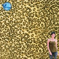 Buy cheap Quality Guaranteed Fabric Weft Knitted Pique Mesh Leopard Printed Organic Cotton Fabric Wholesale from wholesalers