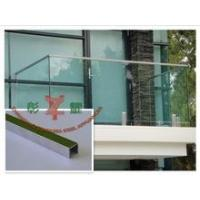 Buy cheap stainless steel U-CHANNEL top rail from wholesalers