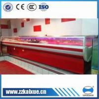 Buy cheap Commercial refrigerator supermarket top open fresh meat display case refrigerator from wholesalers