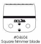 Buy cheap Clipper Blades AndisSquare Trimmer Blade for Outliner (GTO) from wholesalers