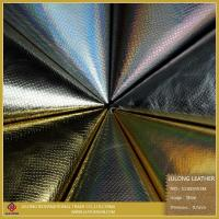 Buy cheap Shoe Leather Good Quality Laser Film Synthetic Leather (S110) from wholesalers