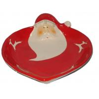Buy cheap Crafts Proudct name:santa claus plate, dolomite plate, christmas ornament Material:Dolomite from wholesalers
