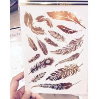 Buy cheap Crystal Sticker Metal Gold Silver Color Tattoo product