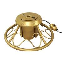 Buy cheap Heavy Duty Fancy Gold Metal Rotating Artificial from wholesalers