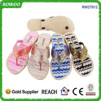 Buy cheap sexy PVC sole lady flat slipper sandals from wholesalers