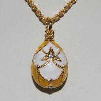 Buy cheap Faberge egg pendants YF22-1221A from wholesalers