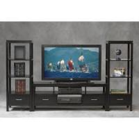 Buy cheap LN-84025BLK-01-KD-U Linon Sutton Plasma TV Center and Tower from wholesalers