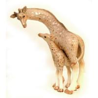 Buy cheap Giraffe and Baby Sculpture from wholesalers