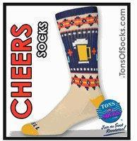 Buy cheap Men's Fair Isles Cheers Sport Socks (Oatmeal Heather) from wholesalers