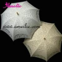Buy cheap A0107 Vintage Lace Wedding Decoration Umbrellas from wholesalers