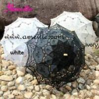 Buy cheap A0101 Latest Vintage Wedding Lace Parasol from wholesalers