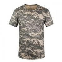 Buy cheap Camouflage Camo Army Military T-Shirts Tees Tee Shirts 5Colors from wholesalers