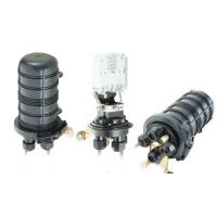 Buy cheap Outdoor optic cable 4 Core FTTH Dome splice closure from wholesalers