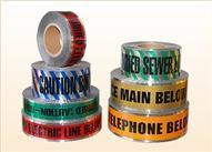 China Warning tape Aluminum foil composite detectable pipe warning tape on sale