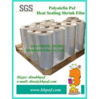 Buy cheap Single Wound Clear Plastic Roll Polyolefin Shrink Wrap Film from wholesalers