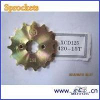 Buy cheap SCL-2013111102 BAJAJ Chain Sprocket Spare Parts For BAJAJ XCD 125 from wholesalers