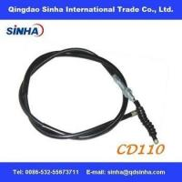 Buy cheap chrome plated CD110 motorcycle clutch cable product