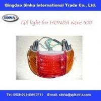 Buy cheap motorcycle tail light assembly for honda wave 100 from wholesalers