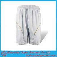 Buy cheap Basketball shorts Running sport polyester Shorts Summer Apparel from wholesalers