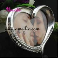 Buy cheap A8158 Wholesale Heart design Metal sexy photo picture frames from wholesalers