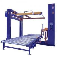 Buy cheap Automatic Pallet wrapping machine with top sheet dispenser from wholesalers