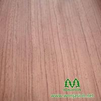 Buy cheap Natural Bubinga pommele veneer (QC) from wholesalers