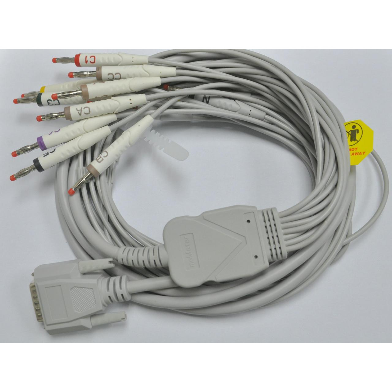 Buy cheap 15 led EKG cable from wholesalers