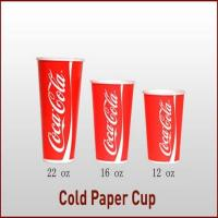 Buy cheap Double Wall Paper Cup SINGLE-WALL COLD DRINK CUP-HOT SALE from wholesalers