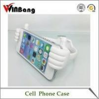 New Cute Thumb Shape Silicone Mobile Phone Holder for Desk