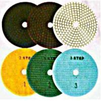Buy cheap Diamond products 3-Step Polishing Pads from Wholesalers