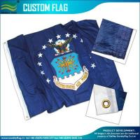 Custom Made Flags 120gsm Knitted Polyester Custom Flags
