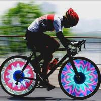 Buy cheap Smart Bicycle Part Bicycle Wheel Light from wholesalers