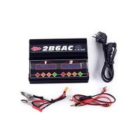 Buy cheap Charger 2B6AC Dual-Output AC/DC Dual-Power LiPo Balance Charger from wholesalers