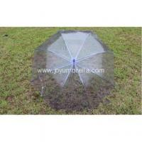 Buy cheap PVC fabrics advertising straight umbrella from wholesalers