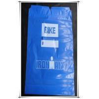 Buy cheap PE bags blue HDPE drawstring bag for gift packaging from wholesalers