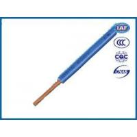 Buy cheap Electric Wire PVC insulated single core copper cable from wholesalers