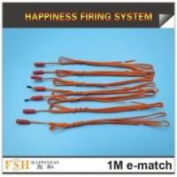 Buy cheap 1M Fireworks igniters,Liuyang electric ignition ematch igniter,0.45mm copper wire from wholesalers