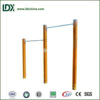Buy cheap Outdoor Fitness Equipment Outdoor WPC Double Horizontal Bars from wholesalers