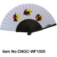 Buy cheap Wooden Fabric Hand Fanb product