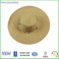 Buy cheap Hot Wide Brim Sun Hat with Daisy Chian from wholesalers