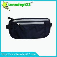 RFID Blocking Money Belt - Waist Stash - Passport Holder