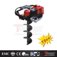 Buy cheap New Teammax 75cc Gas Petrol Post Hole Digger Earth Auger Drill Bit Fence Borer Bits from wholesalers