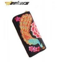 Buy cheap Double-sided embroidered womens clutch purses from wholesalers