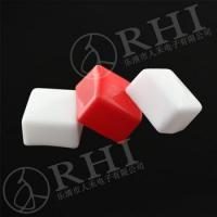 Buy cheap White red Soft PVC Square End Caps Covers for terminal/PVC sleeve from wholesalers