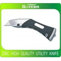 Buy cheap Aluminium heavy duty hobby knife high quality knife with soft rubber handle product