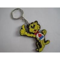for promotional gifts items made in china 3d soft pvc animal shaped custom keychains